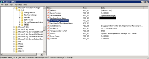 SCOM 2012SP1 Upgrade - Regedit
